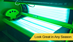 Open Tanning Bed - Tanning Salon
