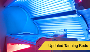 Operating Tanning Bed - Tanning Salon